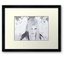 Final Fantasy - Sephiroth Framed Print
