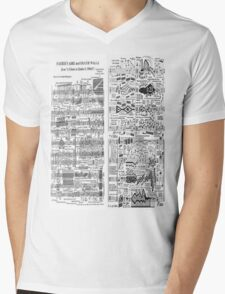 Faerie's Aire and Death Waltz Mens V-Neck T-Shirt