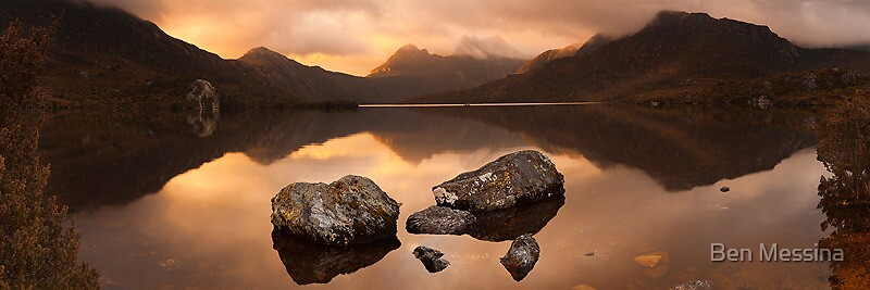 Cradle Mountain Sunrise by Ben Messina