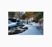 Winter Afternoon At Oneida Falls Unisex T-Shirt