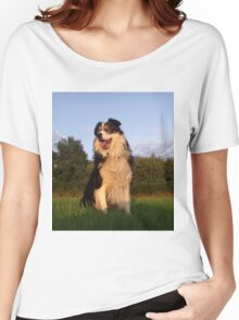 To err is human, to forgive, canine. Women's Relaxed Fit T-Shirt