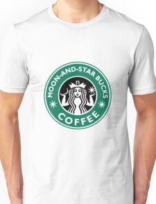 Moon-and-star bucks Unisex T-Shirt