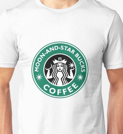 Moon-and-star bucks Unisex T-Shirt