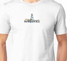 Newport Beach - Rhode Island. Unisex T-Shirt