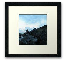 Limestone - The Burren Framed Print