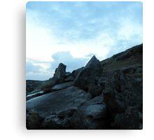 Limestone - The Burren Canvas Print