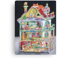 Magical Doll House Canvas Print
