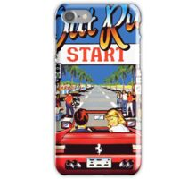 outrun 90s iPhone Case/Skin