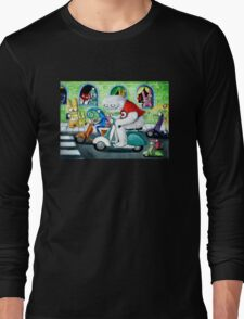 Scooter rally - Yeti and Co. Long Sleeve T-Shirt
