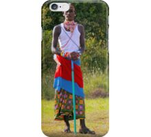 Masai, KENAY iPhone Case/Skin