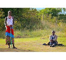 Masai, KENAY Photographic Print