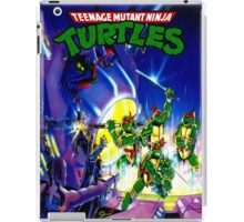 teenage mutant ninja turtles 90s iPad Case/Skin