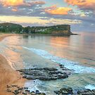 On The Rocks - Avalon Beach, Sydney - The HDR Experience by Philip Johnson