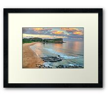 On The Rocks - Avalon Beach, Sydney - The HDR Experience Framed Print