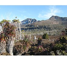 Mt Ossa in the Tasmanian Highlands Photographic Print