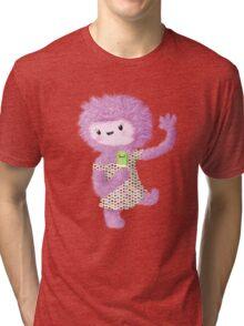 Summer Furry Lady Tri-blend T-Shirt