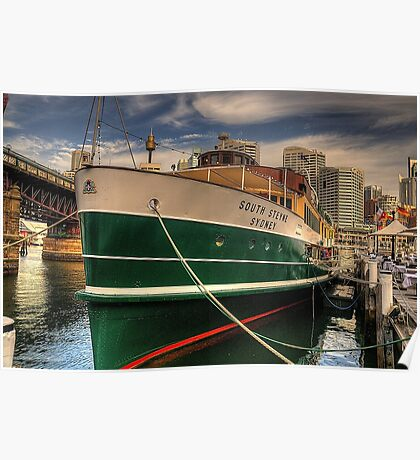 Old and Still Reliable - SS South Steyne, Sydney Australia Poster