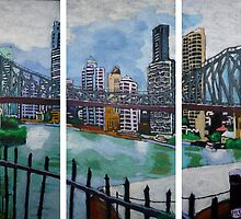 Expressions of Brisbane by Dave Manuel by DavidRManuel