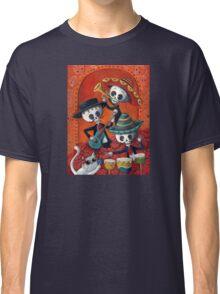 Dia de Los Muertos Skeleton Musicans Classic T-Shirt