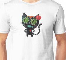 Black Cat of The Dead Unisex T-Shirt