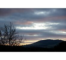 wintry dawn Photographic Print