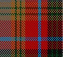 00172 Berrwick upon Tweed English District Tartan  (asymmetric) Sticker