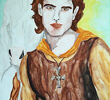 Saint Columba by Rowan  Lewgalon
