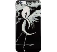 0025 - Brush and Ink - Near Forest Line iPhone Case/Skin
