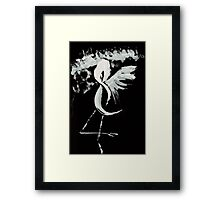 0025 - Brush and Ink - Near Forest Line Framed Print