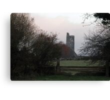 Kilcrea Castle - Co. Cork Canvas Print