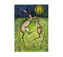 The Relentless Affection Art Print