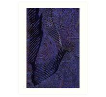 moonlit coils Art Print
