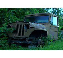 old jeep Photographic Print