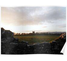 The field leading to Klicrea Castle c1445 Poster