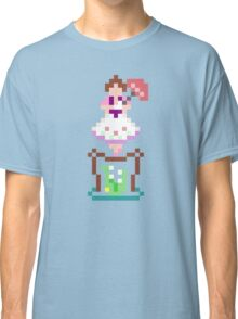8-bit Haunted Mansion Tightrope Girl Classic T-Shirt