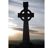 Celtic cross - Rock of Cashel Photographic Print