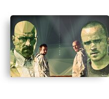 Heisenberg & Jesse Metal Print