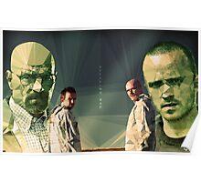 Heisenberg & Jesse Poster