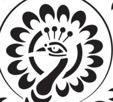 Hindu Peacock Sticker