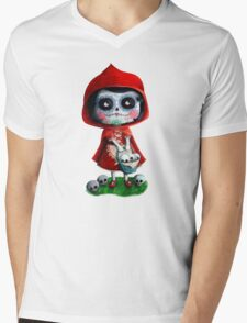 Dead Red Riding Hood Mens V-Neck T-Shirt