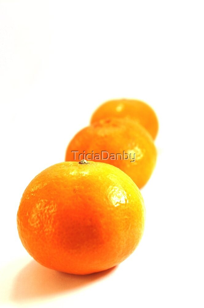 Tangerines by TriciaDanby