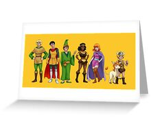 Dungeons & Dragons  Greeting Card