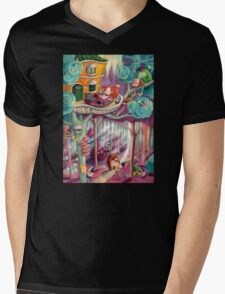 Magical Forest Mens V-Neck T-Shirt