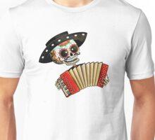 Mexican Skeleton Musician Unisex T-Shirt