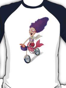 Mermaid on The Bike T-Shirt