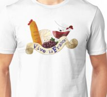 Basket of Delicious French Treats Unisex T-Shirt
