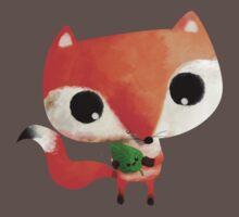 Cute Little Fox Baby Tee