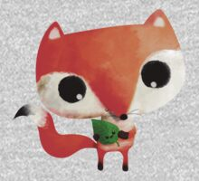 Cute Little Fox One Piece - Long Sleeve