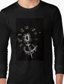 0032 - Brush and Ink - Second Flower Long Sleeve T-Shirt
