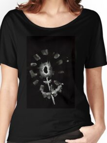 0032 - Brush and Ink - Second Flower Women's Relaxed Fit T-Shirt